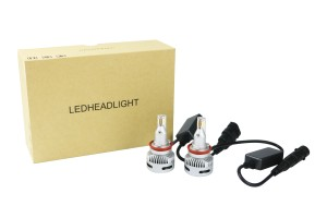 EKlight V6 42W 8000LM H1 H7 H11 9005 9006 9012 Projector lens led headlight