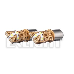 EKlight 7443 7444 CANBUS LED وار سيګنال شاتړ سرچپه څراغونه بلب