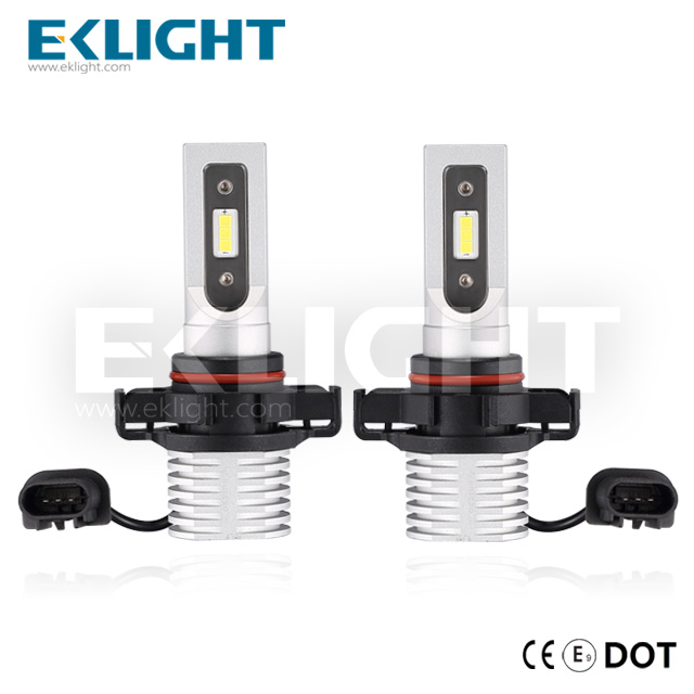 EKlight V12 5202 H16 9009 Led headlight/Auto lighting bulbs CE/Emark/DOT approved Featured Image