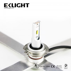 9006 Led Headlight with aluminium tape