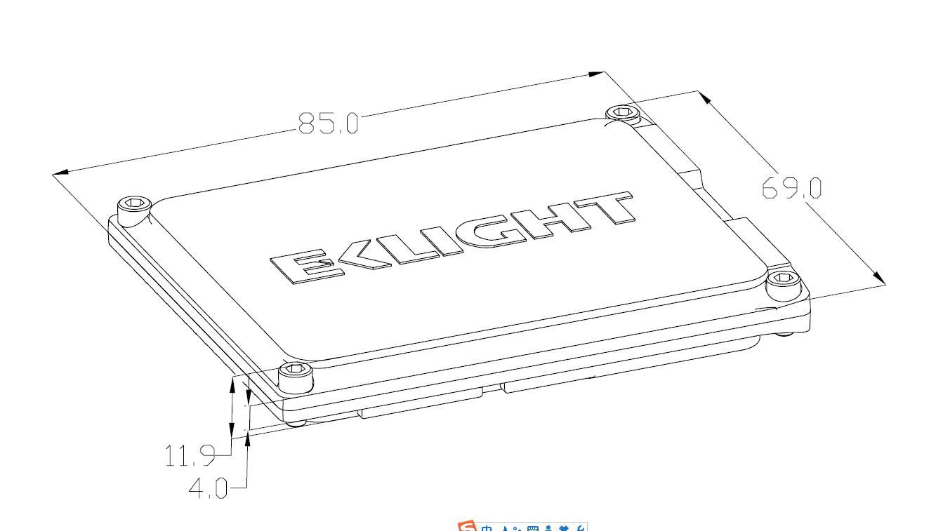 Q4 hid ballast size -EKLIGHT