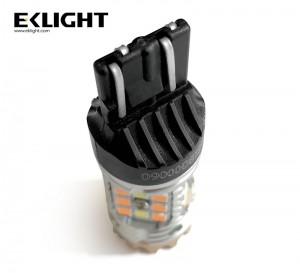 Eklight Canbus Error free 3157 1157 7443 amber/white dual color switchback led light Amber turn signal light