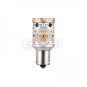 28W no hyper flash canbus ba15s led turn signal light bulb