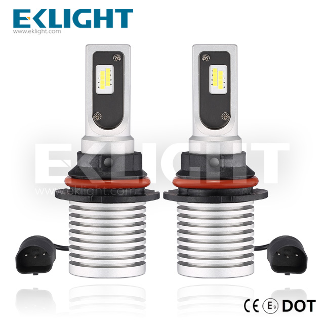 EKlight CE/Emark/DOT V12 Led headlight 9004 9007 Auto lighting bulbs HB1 HB5 Featured Image