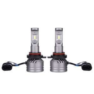 Eklight V13S LED Headlight High Low Beam Fog Light Bulb 6000K, H11 H7 H4 Super Bright LED Headlight bulb
