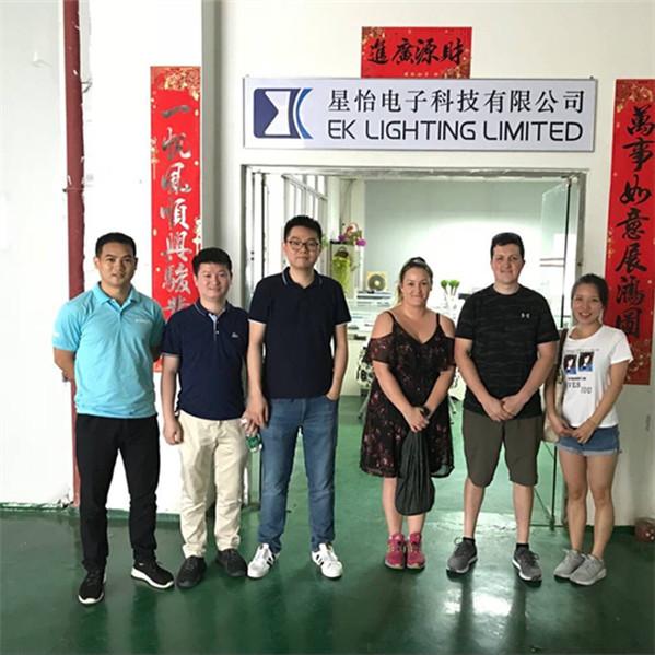 EKlight visit