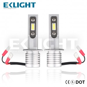 EKlight CE/Emark/DOT V12 Led headlight H1 Auto lighting bulbs  9008