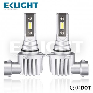 EKlight CE/Emark/DOT V12 Led headlight H10 Auto lighting bulbs