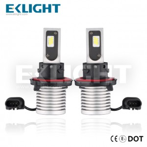 EKlight CE/Emark/DOT V12 Led headlight H13 Auto lighting bulbs