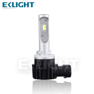 H7 H11 Halogen size car led headlight bulb