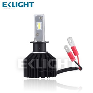 EKlight V10 H11 Fanless LED Headlight Bright Hi/Lo Beam 6000K White