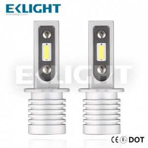 EKlight CE/Emark/DOT V12 Led headlight H3 Auto lighting bulbs