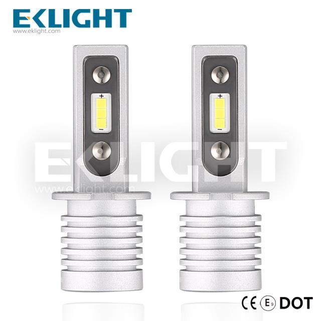 EKlight CE/Emark/DOT V12 Led headlight H3 Auto lighting bulbs Featured Image
