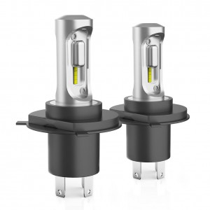 H4 hi lo dual beam bixenon LED headlight bulb kit