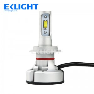 V9 H4 9003 HB2 Fan led headlight Halogen bulb size design