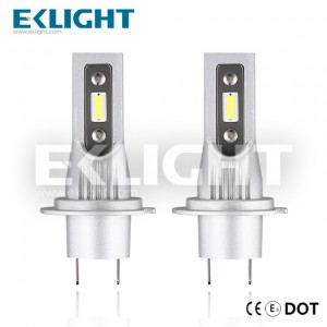 EKlight CE/Emark/DOT V12 Led headlight H7 Auto lighting bulbs
