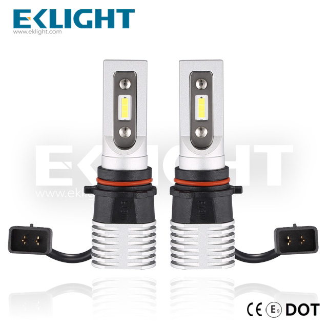 EKlight CE/Emark/DOT V12 Led headlight P13 Auto lighting bulbs Featured Image