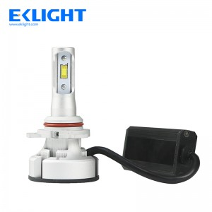 EKlight V9 H1 fan led headlight built-in Smart Fail-safe System
