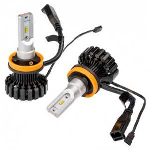 EKlight Great beam pattern K6F led headlight kits with Philips Zes led chips 5700k