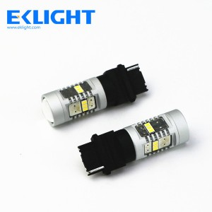 2018 White Amber Halogen Yellow 7443 Car LED Lamp 5630 Light