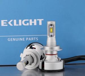 Automotive bulb Led Car Headlight with high speed ball fan