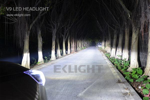 led headlight high beam